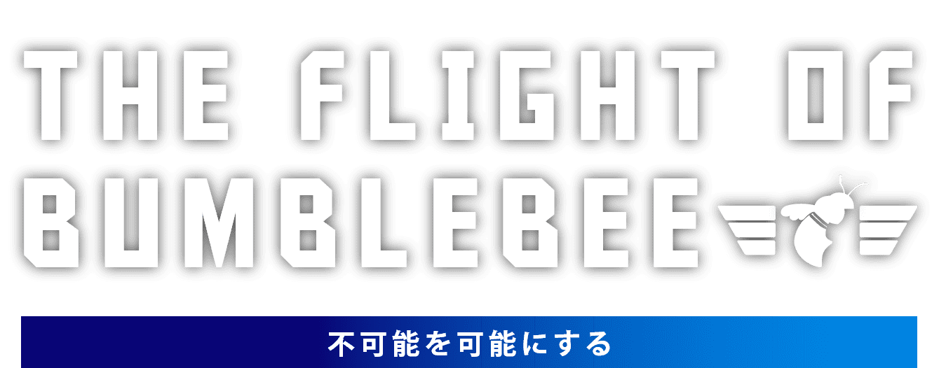 THE FLIGHT OF BUMBLEBEE / 不可能を可能にする